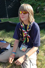 Me @ Jambo (AdamBoulton) Tags: people scarf tents d70 stage explorer flags badges jamboree cermony worldscoutjamboree