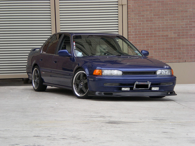 old school honda accord 1993 93 jdm cb7 h22