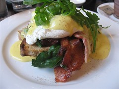 Eggs Florentine with Bacon (aptronym) Tags: breakfast bacon cafe toast sydney eggs surryhills spinach hollandaise twogoodeggs eggsflorentine aptronym sydneybreakfast twogoodeggsbreakfast