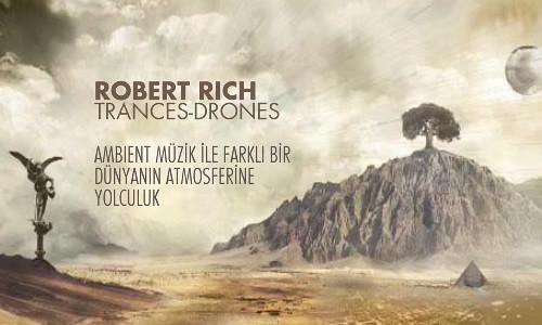 Robert Rich - Trances-Drones Kapak