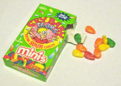 cry baby candy minis sour