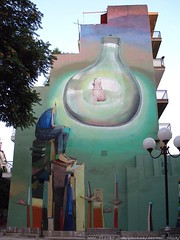 Athens Street Art (server pics) Tags: street building art wall bulb greek graffiti paint artist athens greece grecia artists writers writer grce pintura  carpediem grafite  griekenland athnes      streatart   athensstreetart serverpics