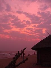 Sunset on Lake Niassa