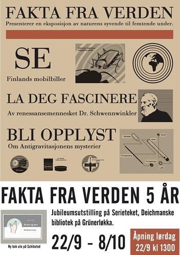 Fakta utstilling poster