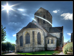Eglise d'Auvers sur Oise (milliped) Tags: vincent notredame 95 vangogh auvers oise auverssousoise