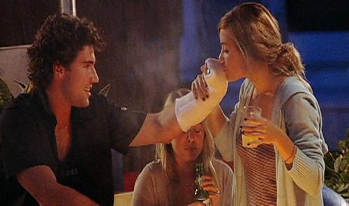 lauren conrad and kyle howard kissing. Lauren Conrad kissing Brody