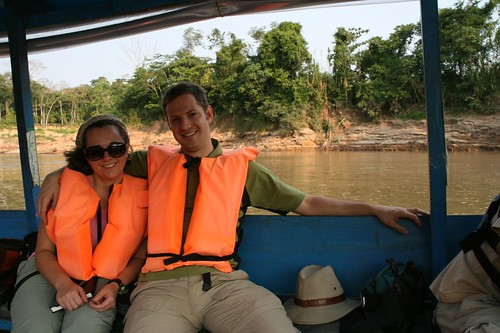 Matt and Jeanne on the Tambopata