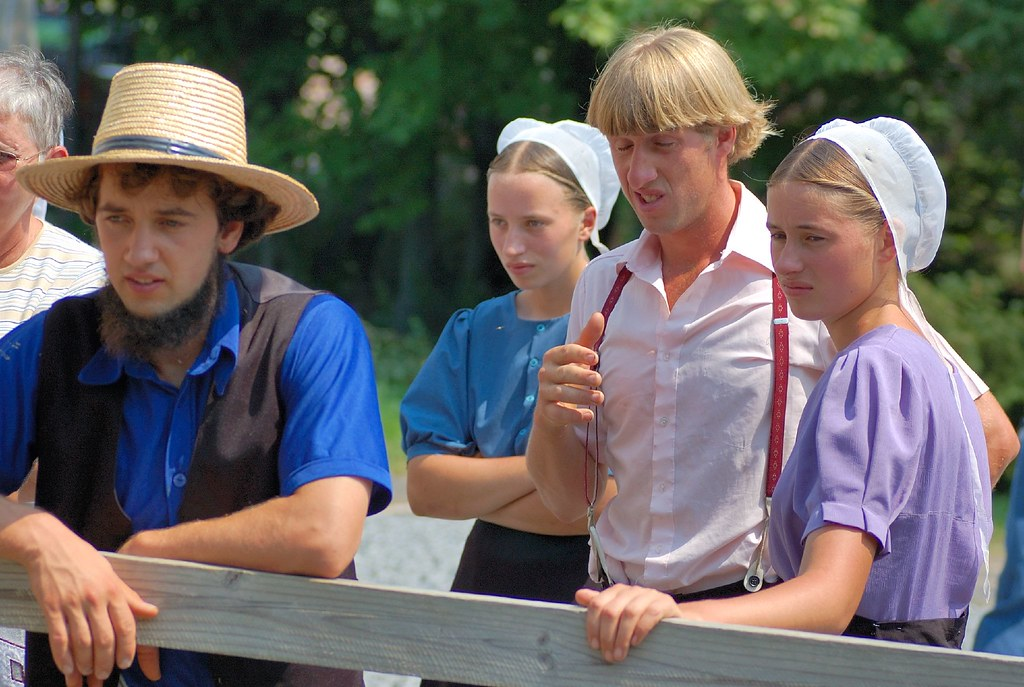 Amish Tourists in Pennsylvania