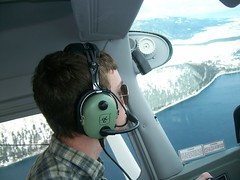 Wallowa Lake (cessna692) Tags: clouds flying general aviation flight enterprise cessna 170 172 182