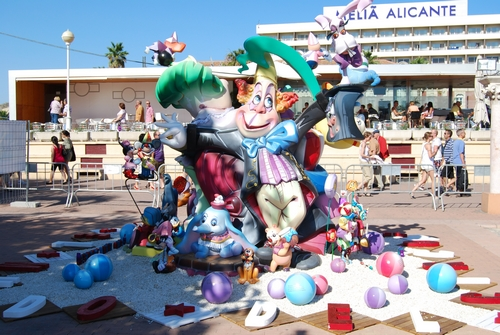 Foguera Infantil Port d' Alacant