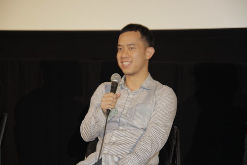 Ming Jin speaks at INHALATION/THE TIGER FACTORY Q and A
