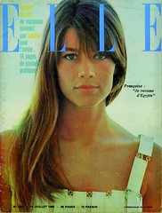 ELLE-July 1966 (Fashion Covers Magazines) Tags: elle 1966 pacorabanne vintagefashion vintagemagazine franoisehardy 1960s 1960sfashion