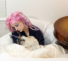 Why I Missed the Daily Show Rally (wisely-chosen) Tags: sleeping dog selfportrait me october pug bebe canon50mmf18 pinkhair 2010 theempress beebs fawnpug colorfulhair lavenderhair naturallycurlyhair canonspeedlite430exii manicpaniccottoncandypink rescuedpug empressbebe empressbeebs sweetbeebs manicpanicultraviolet manicpanicmysticheather adobephotoshopcs5extended