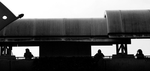 Silhouette @ the Monorail Station