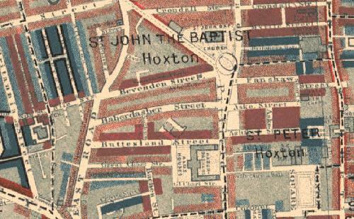 Hoxton map