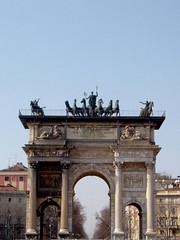 """El arco de la """"Pace"""" (Isabella De Gregorio) Tags: miln"""
