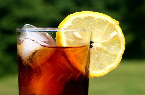 Foto de una bebida con hielo