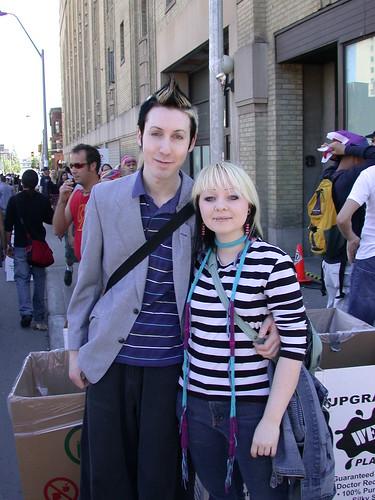 Dyke March, Toronto, June 2004