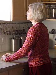 Anatolia sleeve (knitter B) Tags: design knit knitty anatolia