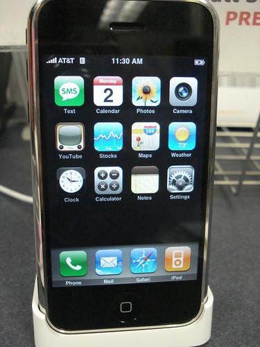 iPhone active