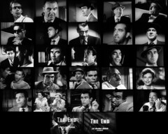 A Noir Story In Faces (Dill Pixels) Tags: bw cinema film topv111 collage movie grid screenshot topv333 noir faces mosaic topv444 topv222 hollywood namethatfilm named filmnoir 1952 ntf kansascityconfidential philkarlson