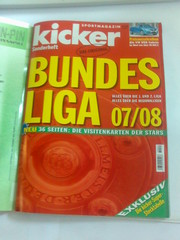 kicker Sonderheft Bundesliga 07/08