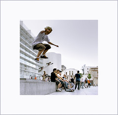 skater  II (josepmaria) Tags: barcelona action skater macba monopatin supershot abigfave aplusphoto