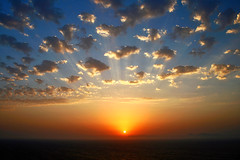 Sunset (esther**) Tags: sunset sea summer sky sun clouds bravo topf300 greece topf100 rhodes topf250 magicdonkey interestingness15 specsky anawesomeshot holidaysvancanzeurlaub tipf200