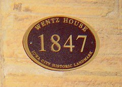 Iowa City Wentz House