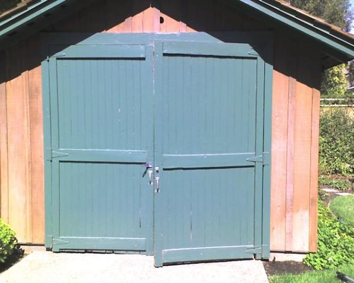 The Front Door of the Garage Where HP Started