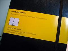 Moleskine Squared Notebook 3