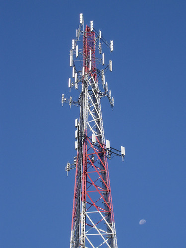 Busy Cell Tower