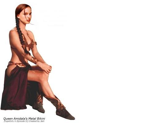 Natalie-Portman-Queen-Amidala-Metal-bikini
