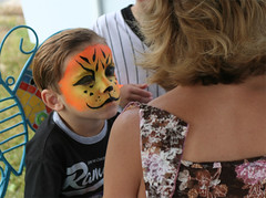 Face Painting (nickrobinson) Tags: church st forest river dominican vincent ferrer
