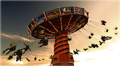 (the place you never left) (aud...) Tags: carnival chicago amusement ride swings navypier chairoplanes anawesomeshot flickrdiamond frhwofavs amazingamateur