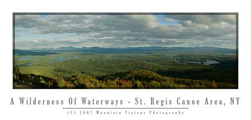 Panorama From St Regis Mtn. (39 megapixels)