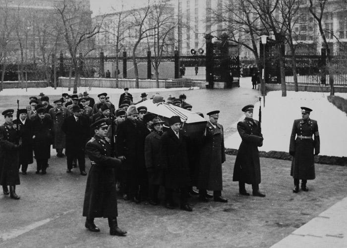 похороны неиз. солдата 1966