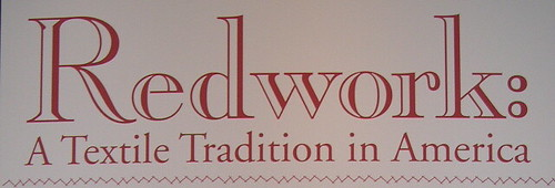 Redwork: A Textile Tradition in America