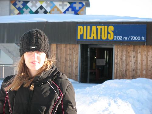 Lisa on Pilatus
