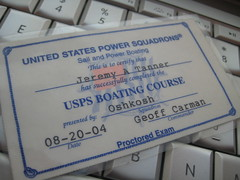 Certified Boater!