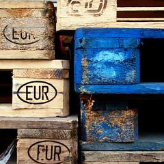 (Katerina.) Tags: wood blue lines urbandecay vivid bluebrown 500x500 linescurves haphazart haphazartblue haphazartwordplaysignssymbols haphazartsquare