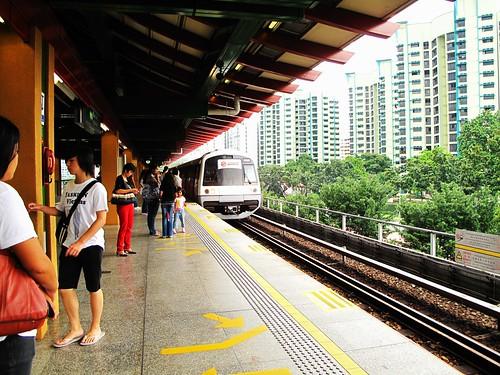 IMG_0235  Arriving ,抵达  - Lakeside MRT Station