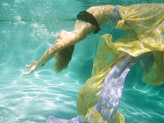 (mia sara.) Tags: water pool girl under explore mermaid frontpage fabrics