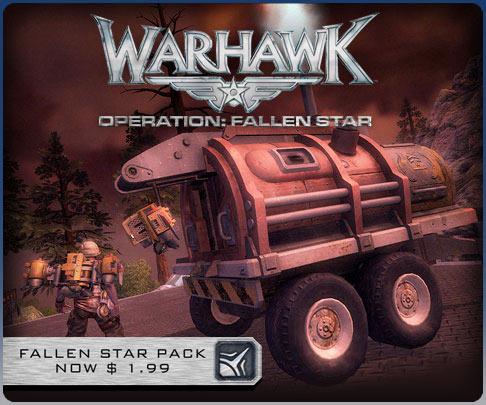 Warhawk Fallen Star Sale