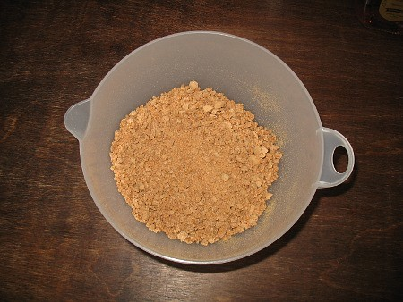 crushed amaretti