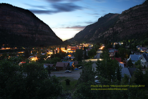 Bottom of the Million Dollar Highway Ouray, CO