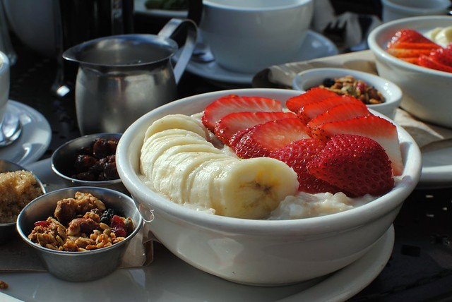 yummy fresh healthy colorful beautiful breakfast at urth