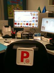 P plates at work
