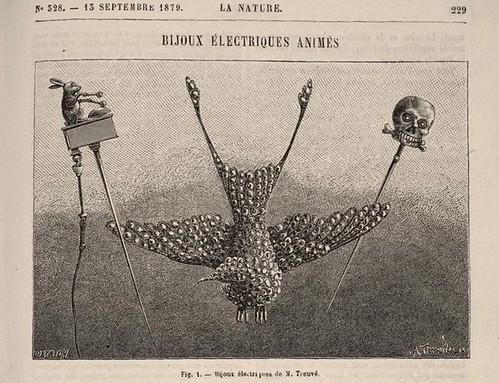 bijoux électriques animés.. (1879)