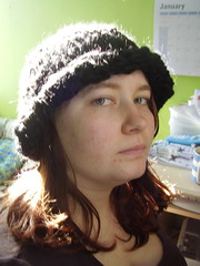 WIP black beanie (lila_underhill) Tags: knitting ravelry